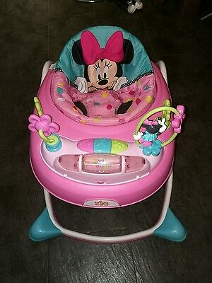 Minnie Mouse Pink Baby Walker