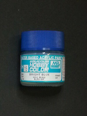 "MR. Hobby Gunze Sangyo 10 ml   "" H15 BRIGHT BLUE GLOSS """