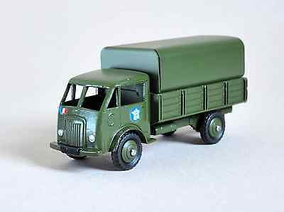 Vintage French Dinky Toy 25J Ford Military Army truck Code 3