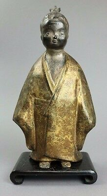 ANTIQUE JAPANESE GILTED CHILD FIGURE - 19th CENTURY