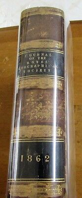 1862 early exploration journals & folding maps - Royal Geographical Society