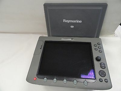 Raymarine E120 Color Multifunction Display Radar Chartplotter Marine Boat