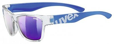 Uvex Sportstyle 508 Kinder-Sonnenbrille - clear blue