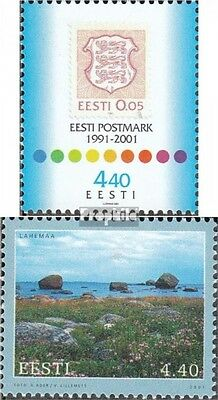 Estonia 414,415 (complete issue) unmounted mint / never hinged 2001 special stam