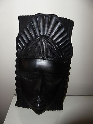 African Male wooden mask