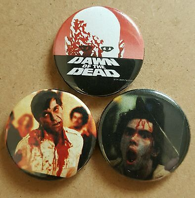 Dawn of the dead badge set George A Romero