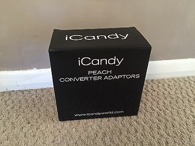I Candy Peach �� Converter Adapters NEW Boxed