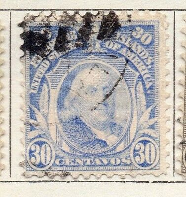 Philippine Islands 1909 Early Issue Fine Used 30c. 123770