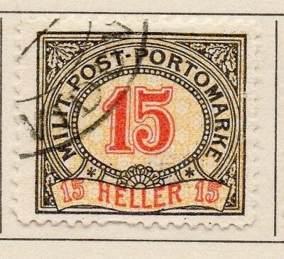 Bosnia Herzegovina 1904-08 Early Issue Fine Used 15h. 123844