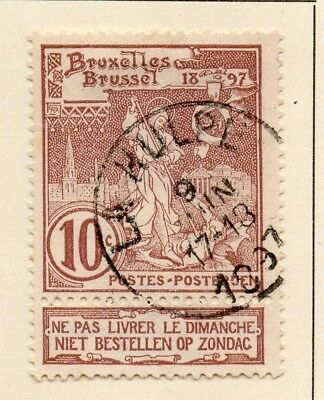 Belgium 1896-97 Early Issue Fine Used 10c. 124024