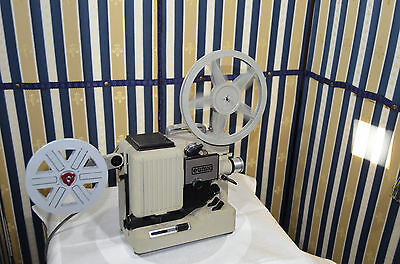 Eumig P8 Phonomatic Novo Automatic 8mm Film Projector Serviced with original tak