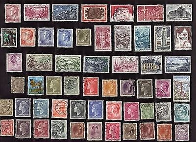 100 All Different LUXEMBOURG Stamps