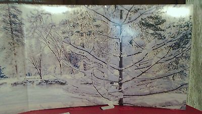 """Christmas Village 45"""" Display Backdrop  Lemax & Other Villages #1 Listing**"""