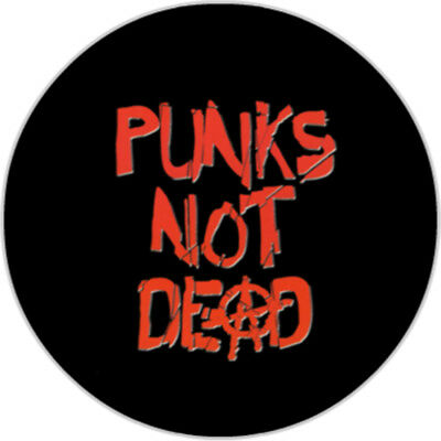Button 25mm - Punks Not Dead