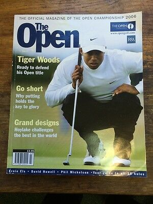 The 2006 Open Golf Official Magazine