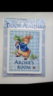 Archie Door Plaque