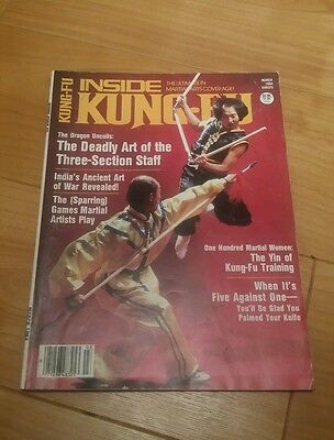 Inside Kung-Fu Karate Martial Arts March 1984