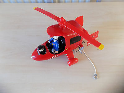 Postman Pat Big Light and Sound Helicopter + 2 figures