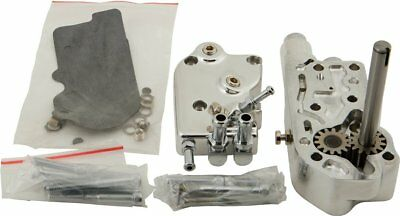 HardDrive Motorcycle Billet Oil Pump For Harley-Davidson Chrome 301493