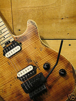 EVH Wolfgang Special 2017 Relic Natural - Mike Palermo - Palermo Guitars D-TUNA