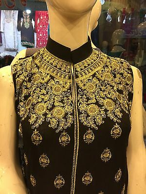 New Asian/indian/pakistani Latest Designer Embroidered Shalwar Kameez Kurta Sari
