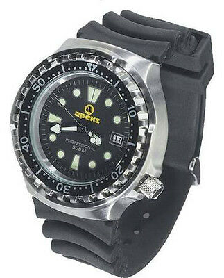 Apeks Professional Dive Watch 500m Mens + Presentation Case Scuba Diving