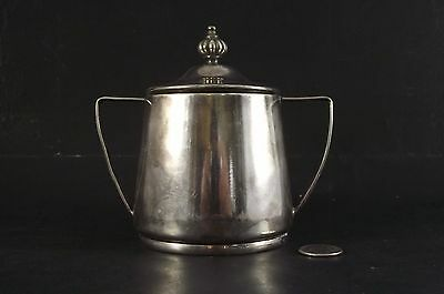 Skyline Hotel Ottawa ?  2 Handled Covered Sugar Bowl With Lid