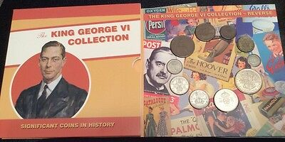 Royal Mint 'The King George Collection' (Inc Silver) 10 Coin Set