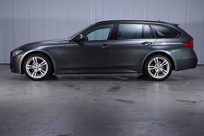 2015 BMW 3-Series Base Wagon 4-Door $53,670 MSRP AWD DIESEL WAGON M-Sport Dynamic Handling Pkg PANO Xenons 18'S