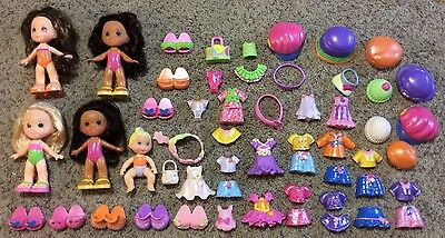 Fisher Price Huge Lot SNAP N' STYLE Dolls Clothes Baby Hats Shoes Accessories