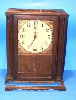 Vintage PHILCO Model 51 Clock Radio With  Model 80 Chassis for Parts