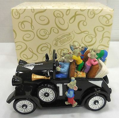San Francisco Music Box Company Animated Mouse Mobile By The Beautiful Sea 5257