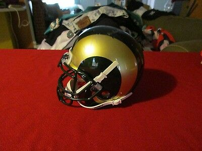 Colorado State Rams Mini Autographed Mini Football Helmet