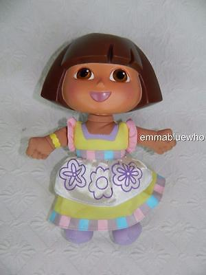 """Fisher Price Dora The Explorer Color Me Doll Soft Body 9"""" ~ EXCELLENT!"""