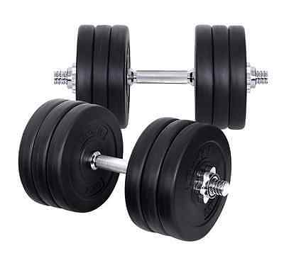 Home Gym Crossfit Fitness Exercise Workout Training Dumbbell Weight Kit 35kg New