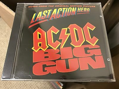 Ac/dc Big Gun Cd Single Col Csk 5185 Dj Promo