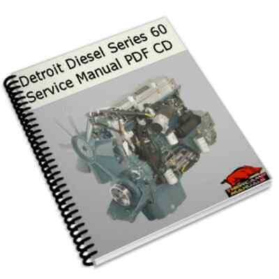 Detroit Diesel Series 60 1996 Workshop Repair Service Manual Repair PDF CD !!