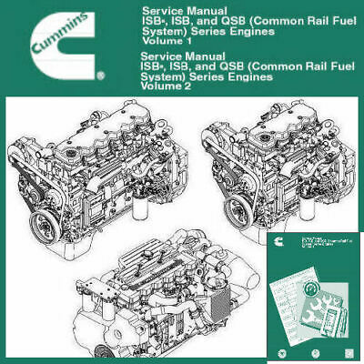 Cummins Series 3.9L 4.5L 5.9L 6.7L  2006 Factory Digtal Service Manual  PDF CD