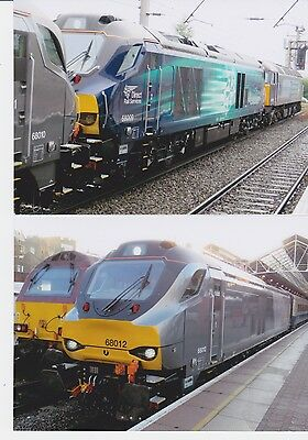 """Two 7"""" x 5""""  class 68 photographs"""