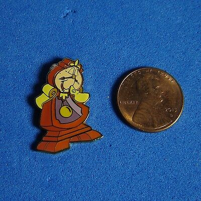 Cogsworth Beauty and the Beast Map Disney Pin DLR GWP