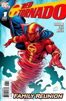 Red Tornado (2009 series) #1 in Near Mint condition. FREE bag/board
