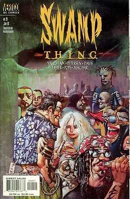 Swamp Thing (2000 series) #9 in Near Mint + condition. FREE bag/board