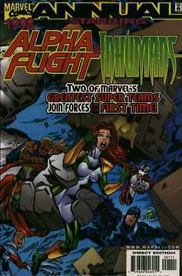 Alpha Flight (1997 series) Annual #1998 in Near Mint - condition