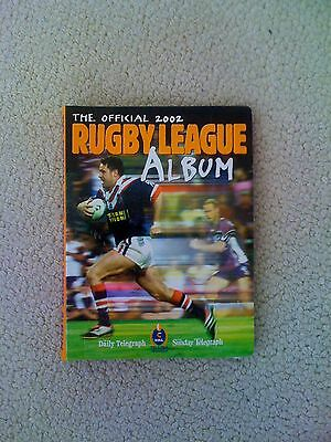 The Official 2002 Rugby League Album (Telegraph) For Trading Cards