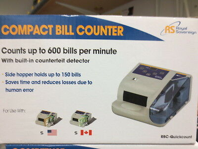 Compact Bill Counter