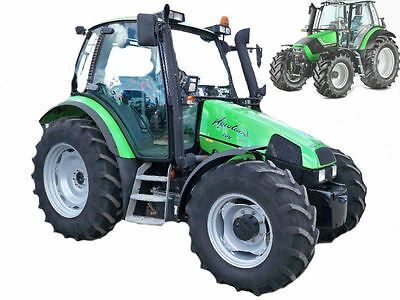 Deutz Agrotron 80 MK3 85 MK3 90 MK3 100 MK3 105 MK3 Service Manual Workshop CD