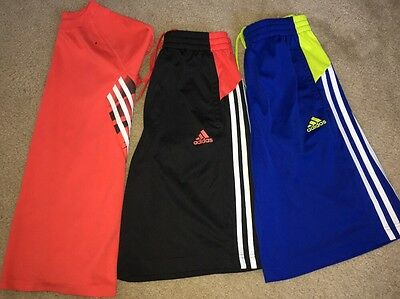 Lot Of 3 Boys Basketball Shorts And Shirt Size L