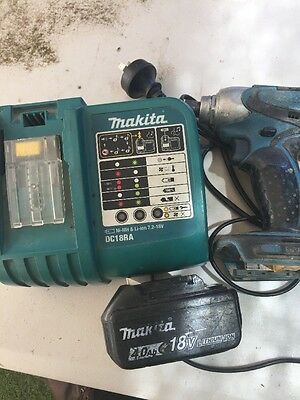 Genuine Makita DC18RA 14.4V - 18V Li-Ion Rapid Battery Charger 4.0Ah BATTERY