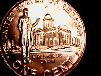 2009 D Lincoln Penny Bicentennial Professional Life Fresh From Roll BU 3D