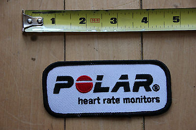 New Polar Heart Rate Monitors Blk Patch for Jacket / Pants / Bag / Other Clothes